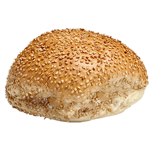 Hamburger Roll Seeded