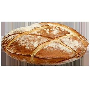 Flat Round Loaf Large