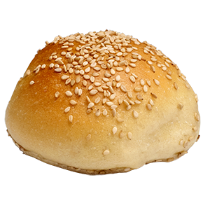 Catering Round Dinner Roll Sesame