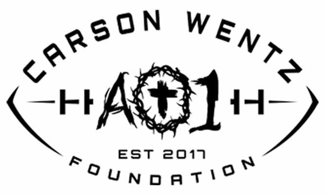 Carson Wentz Foundation logo