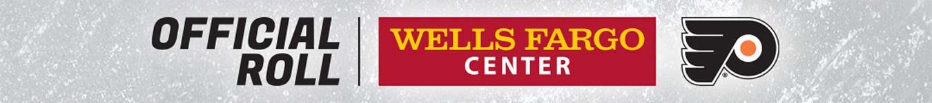 Official Roll Wells Fargo Center Flyers logos
